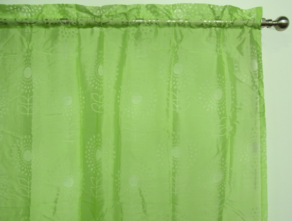 Embroidered Floral Sheer Curtains from Sears.com