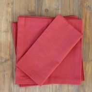Table Napkins Pack of 6 Zanzibar Cinnabar