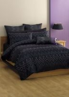 DECO SANTO Queen Bed Quilt Cover Set with European Pillow Cases RRP $159.85