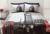 London Quilt Doona Cover Set UK Big Ben United Kingdom - Please choose your size