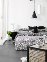 KING Bed Quilt Cover Set with Euros Luxury Cotton Sateen 360TC Carre