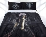 King Quilt Doona Cover Set Anne Stokes collection GOTHIC SIREN gothic theme