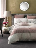 Linen House Classic Collection Ophelia 6 piece QUEEN Bed Pack Dusky Pink