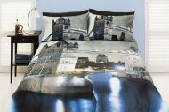 Quilt Cover Set London UK United Kingdom Castle England
