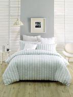 Deco Ashton Blue King Bed Quilt Cover Set 6 piece package