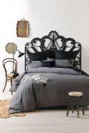 Linen House Lavinia 6 piece Bed Pack Charcoal Cotton Sateen 300 TC