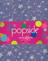 SPARKLE STAR Tab Top Curtains 2x140x213cm PURPLE