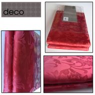 DECO Red table cloth - Garden Floral  - 5 sizes
