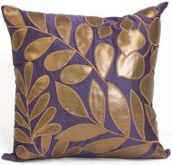 Linen House Alameda Gold Cushion Cover 43x43cm New
