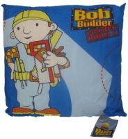 Bob The Builder Project Build It Cushion 40x40cm New