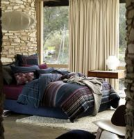 SIngle Quilt Cover Set Corryong Graphite by Linen House