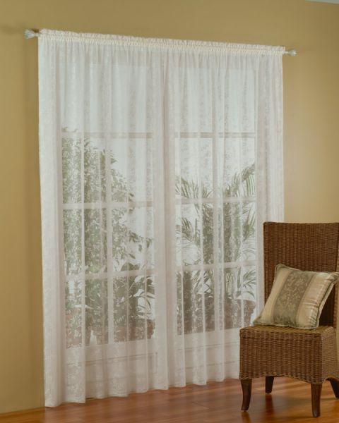 lace curtains with blinds
