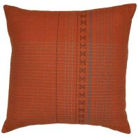 Assam Orange Cushion Cover 50x50cm