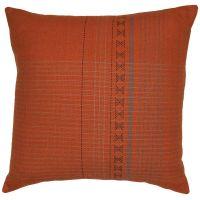 Assam Orange Cushion Cover 50x50cm