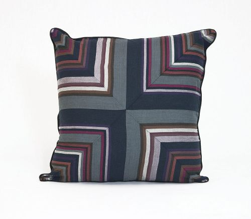 Corryong graphite CUSHION COVER 40x40cm New