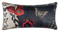 Linen House d'Art Moderne Cushion Cover 30x60cm Butterflies flowers Lavinia