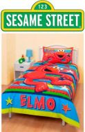 Quilt Cover Set Elmo Licensed Product Bonus Pillowcase