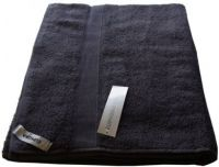 1 Egyptian Cotton Bath Sheet Towel 95x160cm DARK GREY 650 GSM New