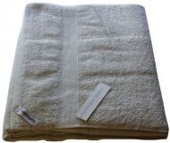 1 Egyptian Cotton Bath Sheet Towel 95x160cm OATMEAL 650 GSM New