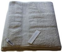 1 Egyptian Cotton Bath Sheet Towel 95x160cm OATMEAL 650 GSM New