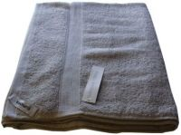 1 Egyptian Cotton Bath Sheet Towel 95x160cm SILVER 650 GSM New