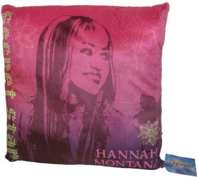 Hannah Montana Secret Star Cushion 30x30cm New