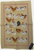 ULSTER WEAVERS Linen Tea Towel HENRIETTA 51x75cm NEW