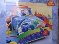 BOB THE BUILDER CONSTRUCTION SINGLE QUILT COVER SET MUCK AND LOFTY with Bob Cushion
