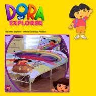 Quilt Cover Set Dora the Explorer Lets go over the rainbow