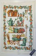 ULSTER WEAVERS Linen Tea Towel POTTING SHED 51x75cm NEW