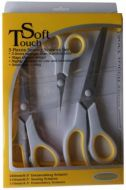 Soft Touch 3 pieces Sewing Scissors Boxed Set NEW