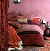 Sepcial order King bed quilt cover set suzani red and Willow King
