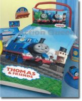 Quilt Cover Set BONUS towel and throw Thomas the Tank Engine