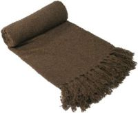 SOFT BOUCLE THROW RUG COCOA New