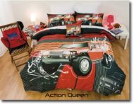 Hummer Style Truck Queen Bed Quilt Cover Set Urban Explorer off road New